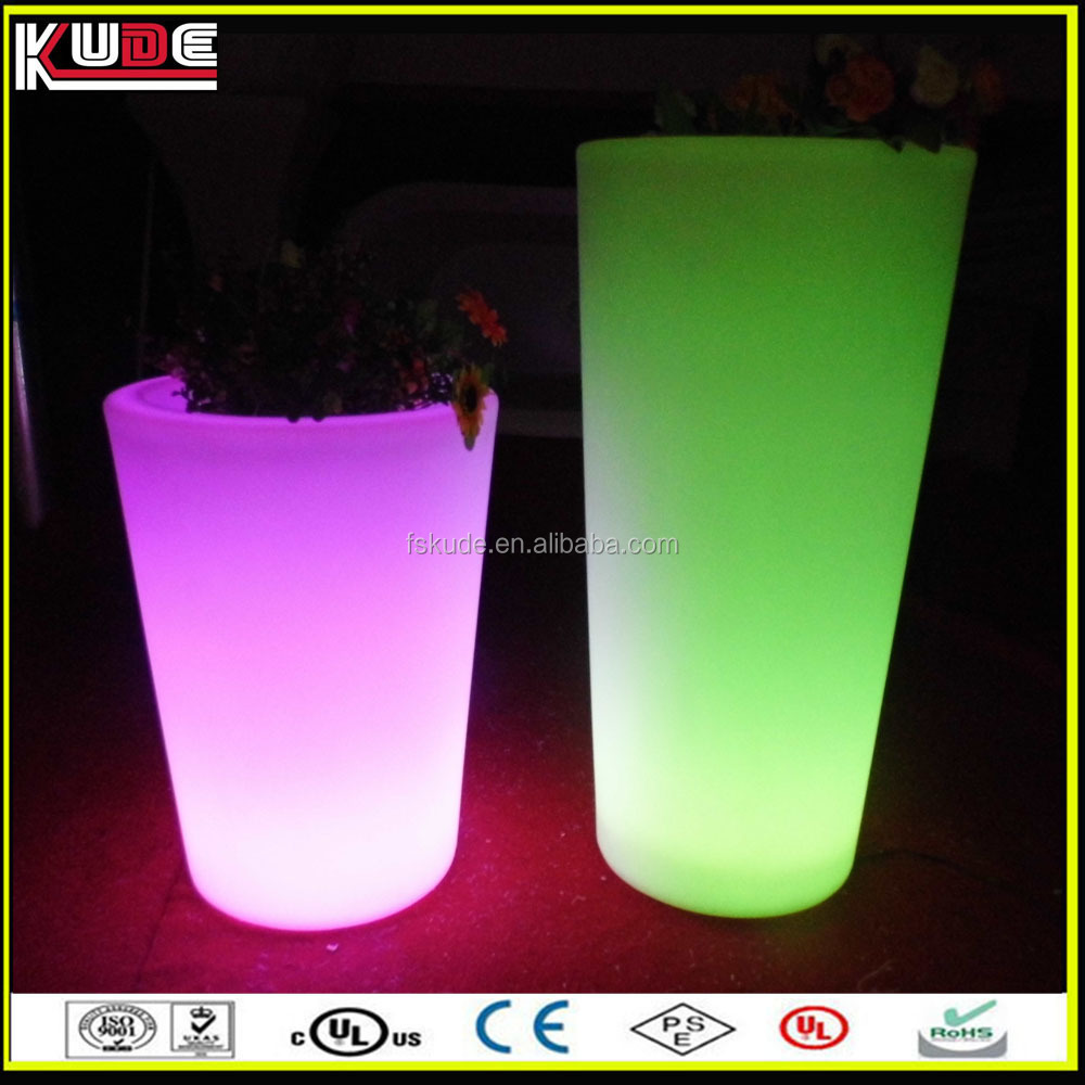 portable large garden pots light for planters