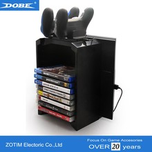 DOBE Factory Disk Holder For Console Vertical Stand PS4 PlayStation 4 Pro & PS4 Slim
