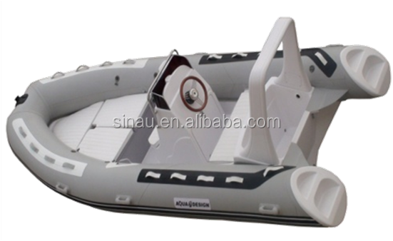 Hot sale 2M- 5M rigid fiberglass hull inflatable boat , RIB sport speed boat for sale