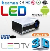 dlp led digital/video game proyector 3d mini beamer energy conservation 1.4 full hd led projector 1080p