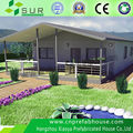 alibaba china newest design steel structure holiday prefabricated villa