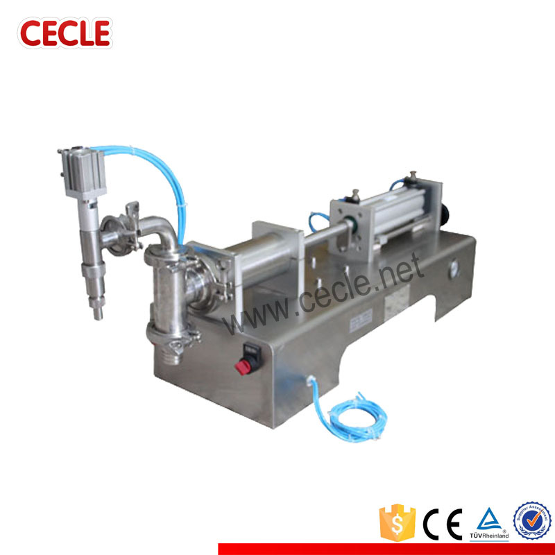 Multipurpose F6-300 plush filling machine for juice/oil/beverage
