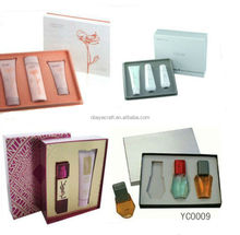 New Paper cosmetic box makeup kit,paper perfume box design,cosmetics packaging box