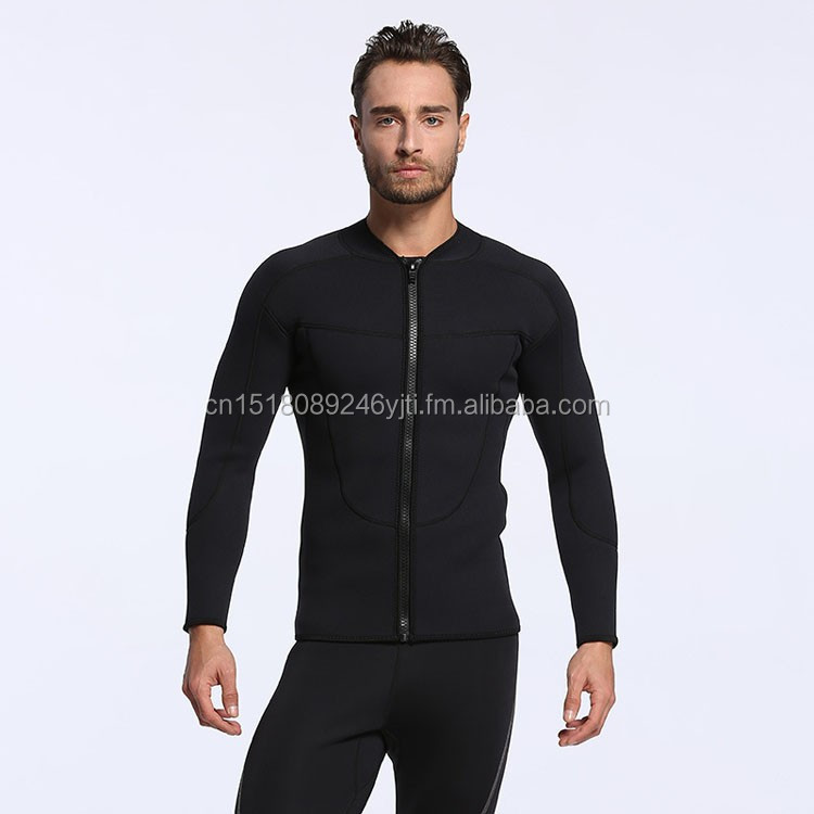 new mens 3mm neoprene jacket with fron zipper warm keep thickend surfing  (5).jpg