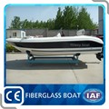 Made in China fiberglass fishing open small boat