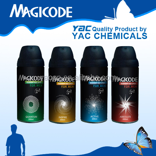 free samples of deodorant body spray YAC brands