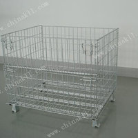 Cargo Storage Equipment Wire Container 47in