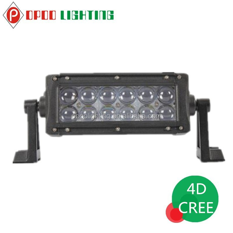 "New Novelty Product 7"" 4D Led Light Bar, Offroad 36W 4D Led Light Bar"
