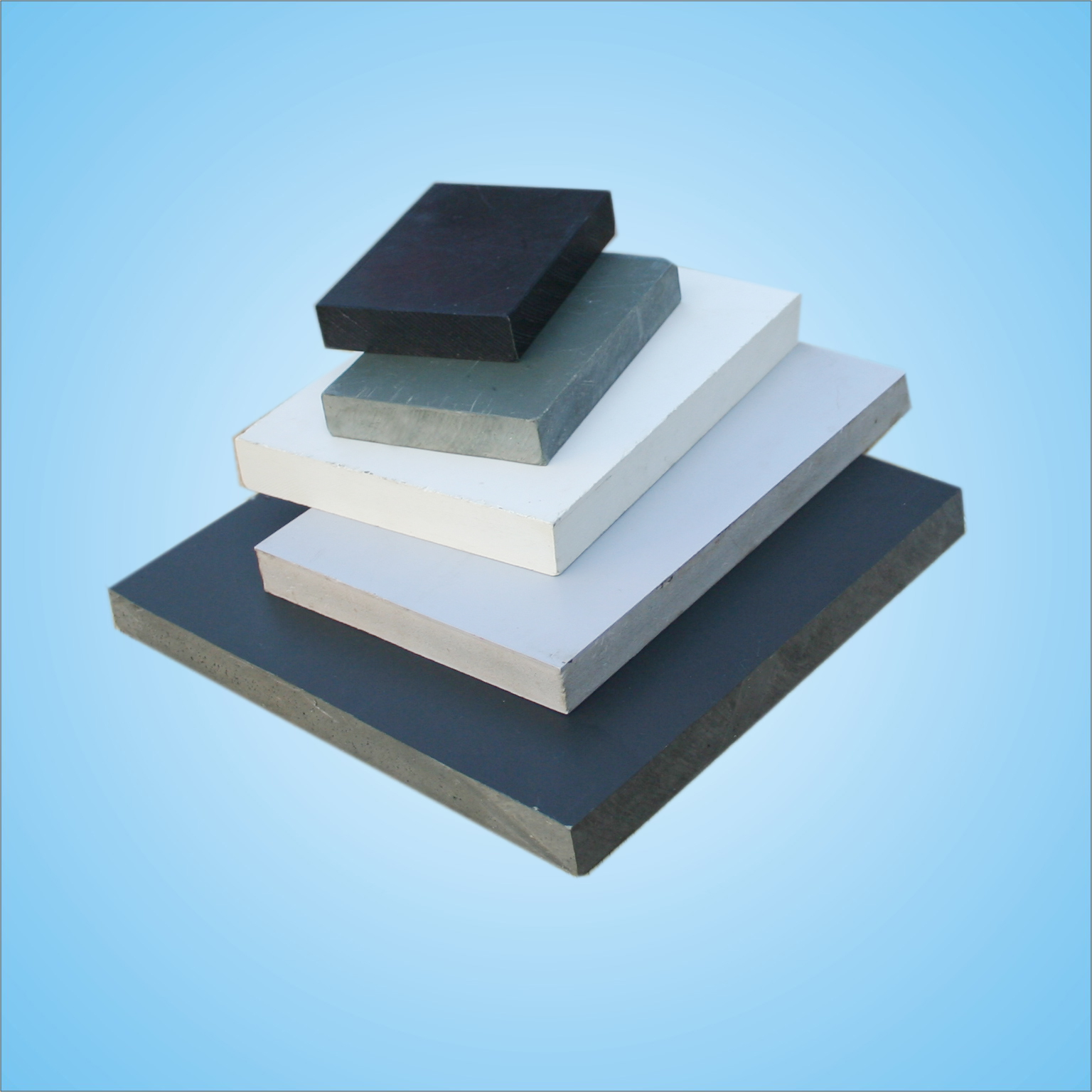 Hot sale great product recycled balck pvc sheet