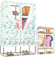 customized portable fabric wardrobe