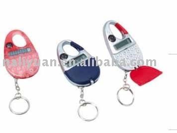 mini size key chain carabiner calculator
