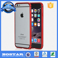 New Arrival Aluminum Metal Case for iPhon 6, Metal Bumper Case For iPhone 6