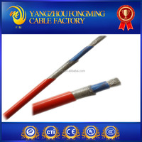 Silicone sheild cable for power