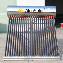 Quality assured stainless steel home solar systems