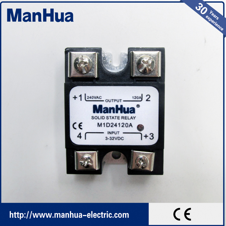 Best Selling Consumer Products DC-AC 240V 120A Solid State Relay 24Vdc