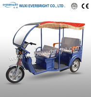 New style battery powered passenger three wheel motorcycle for bangladesh market