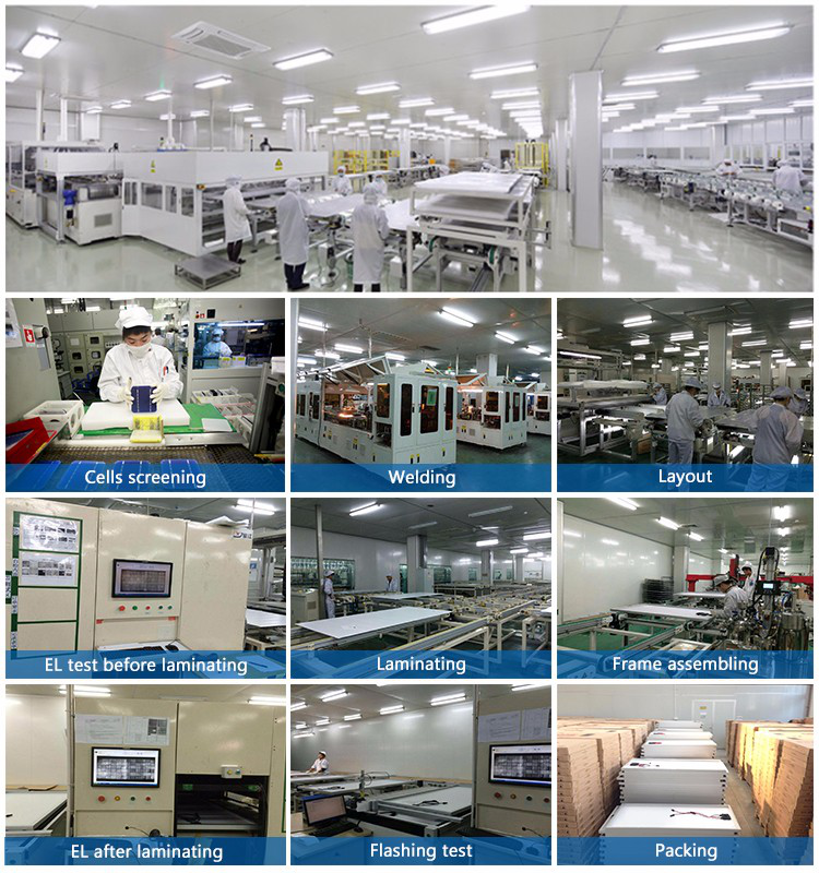 Factory price A Grade Monocrystalline pv solar panel 330w for wholesale