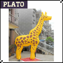 Best selling giraffe inflatable/giant inflatable giraffe