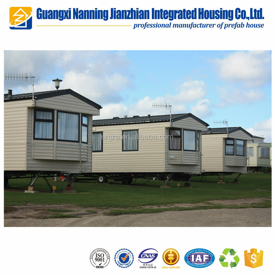 Modern beautiful durable prefab caravans for sale