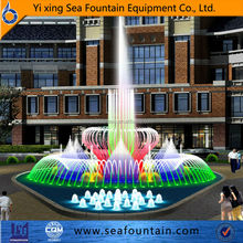 beautiful rich-colored garden fountain for sale