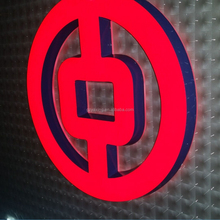 Led glow sign board designs custom board for advertisement