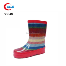 wholesale waterproof colorful rubber girls rain boots covers