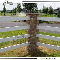 Customized high quality garden wall wood/plastic fence
