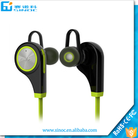 Bluetooth 4.0 sports wireless headphone earphone mp3 player headsets with CE Rohs Fcc certificate