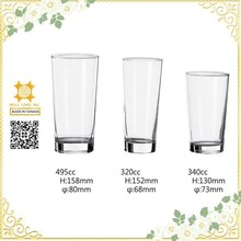 Clear crystal transparent manufacture glass cup