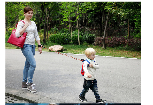 Toddler Kids Safety Harness Child Leash anti lost wrist link traction rope with metal buckle
