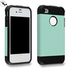 Good Quality PC + Silicone Phone Case for iPhone4/4S