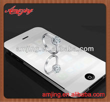 Factory wholesale mirror screen protector for Iphone 4 with cheap price