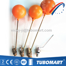 Tubomart Check Valves Plastic Brass Float Ball Valve For Water Tank With Plastic Ball