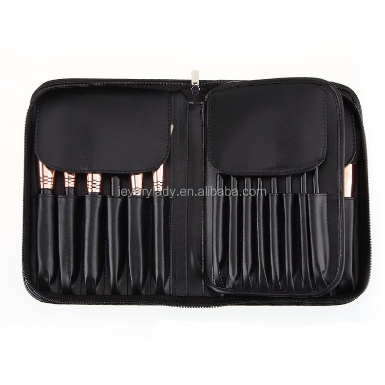 Professional Make Up Brush Set 29pcs Makeup Brushes High Quality Synthetic Hair Makeup Brush With a Black Belt Bag