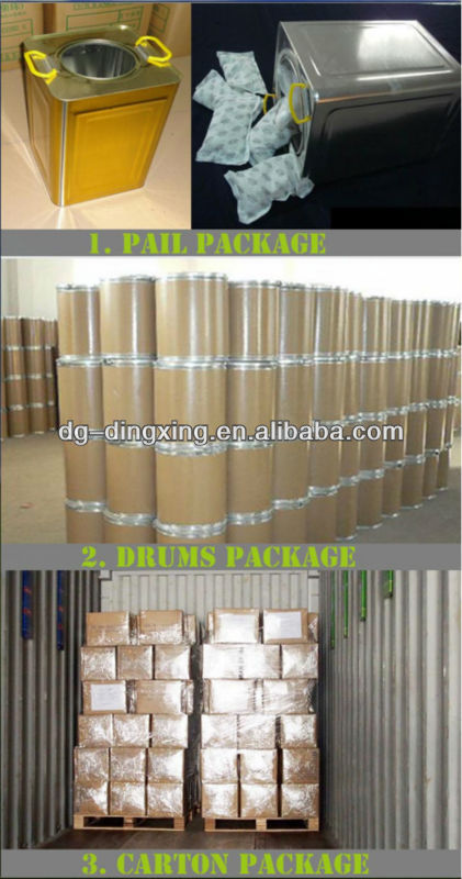 5g silica gel pack desiccant for tools & metal industry