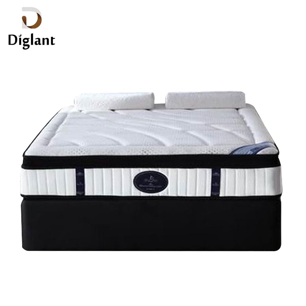 Diglant JE-158 Best Price China Factory 50 Density Foam Euro Top Cotton Value Mattress - Jozy Mattress | Jozy.net