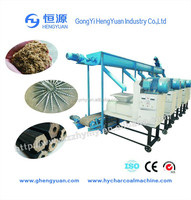 energy saving coconut husk charcoal briquette making machine