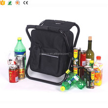 2016 Hot sell Outdoor cooler bag chair/folding cooler bag with stand DF-23-1