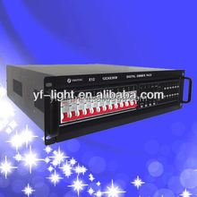 E12 Master and slave intelligent DMX dimmer rack