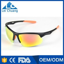 2017 new custom quality outdo sports sunglasses with polarized lenses for cycling