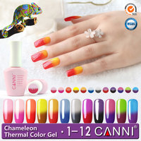 50423H 2016 15ml soak off colored uv gel polish temperature color changing paint