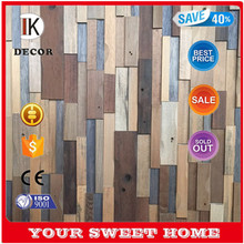 Business Wall Panel 3D Solid Wood