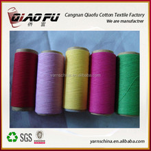 regernerated cotton yarn mop/socks/scarf/bed sheets/towel