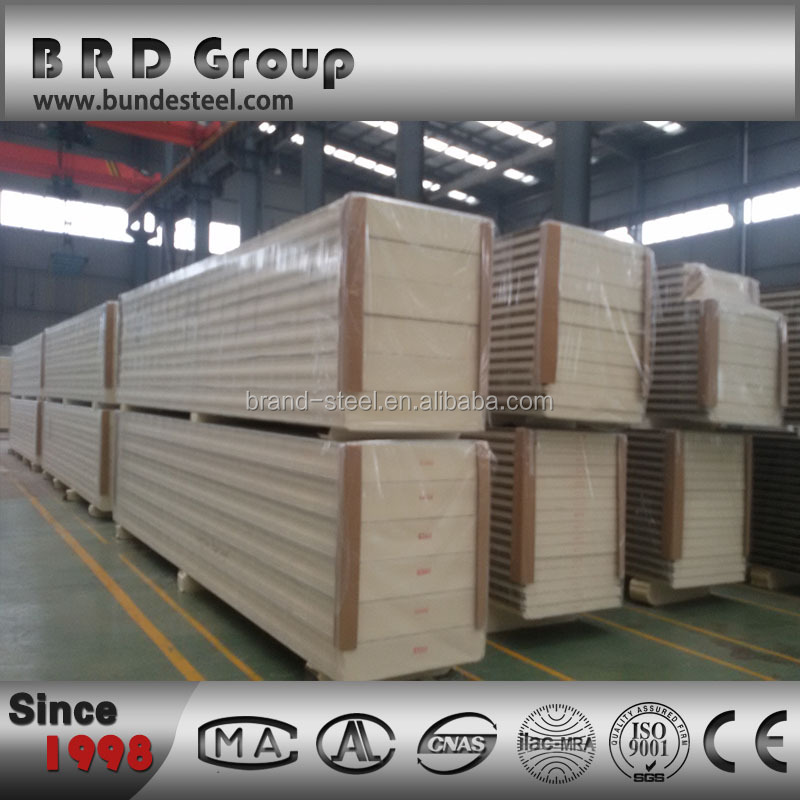 Polyurethane Sandwich Panels for wall and roof