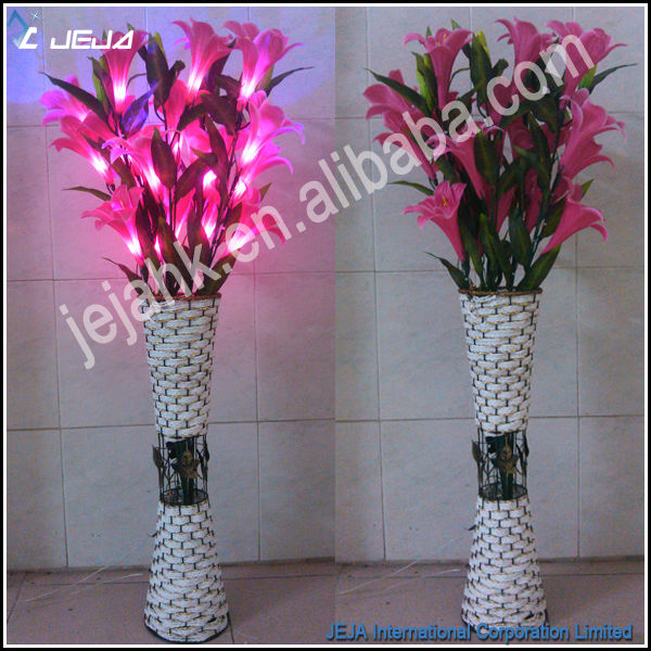 led decorative spring flower lights