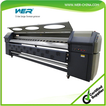 3.2m flex printing machine price reasonable; WER-S3206