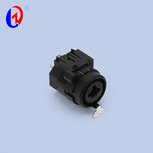 Push Female XLR connector combine 6.35 mm Phone socket jack Combo 10 pin Connector for For Audio video amplifier Audio Mixer