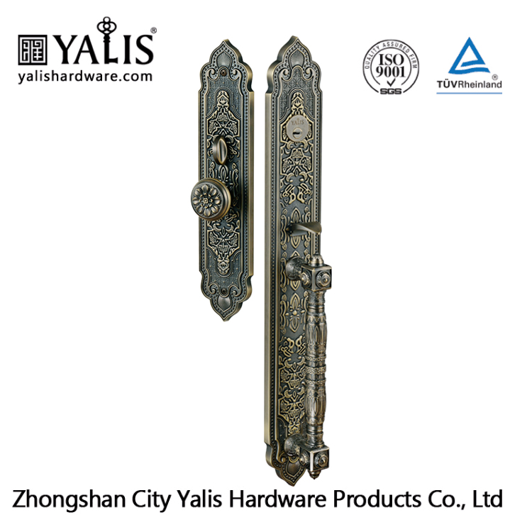 7 Layers Electroplating Single Side Open Panel Door Lock With Deadbolt