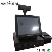 3 years warranty pos printer android 4.4 pos system with cash drawer