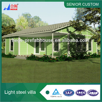 prefabricated resort house,light steel sandwich panel homes